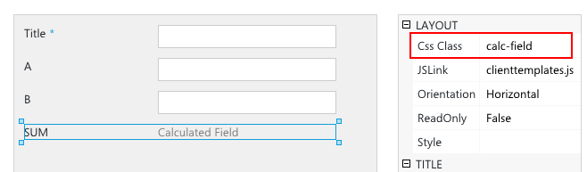 SharePoint Calculated field