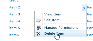 Delete Related item from SharePoint