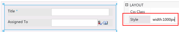 SharePoint fix dialog width